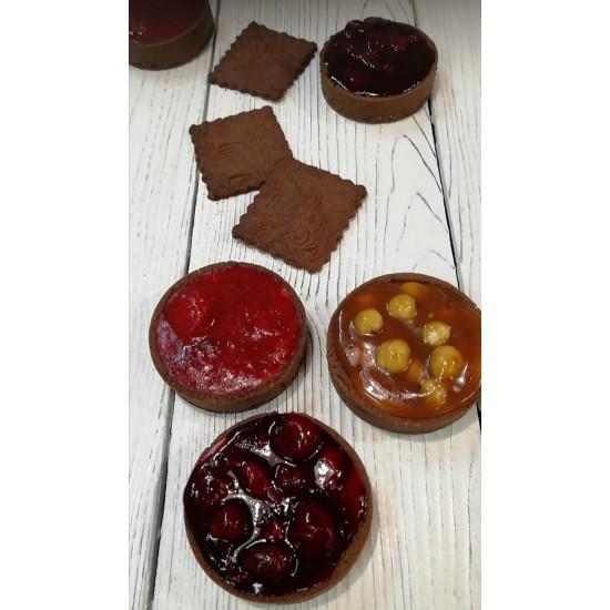 Шоколадная тарталетка диетическая